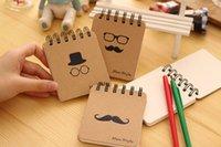 Wholesale 2015newKorean models stationery beard bearded gentleman coil Notepad graffiti thisZy00193