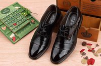 Wholesale version of the British men s casual shoes trend pointed lace married young business men shoes increased