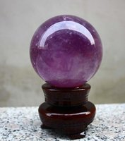 Wholesale Natural Amethyst Quartz Crystal Sphere Ball Healing Stone