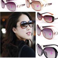 Wholesale Brand Designer Women Sunglass Polarized Sun Glass for Driving Shopping UV400 Protect TAC Lens Celebrity Summer Sunglass