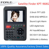 Wholesale digital satllite finder KPT G Inch TFT LED Handheld Multifunctional HD Satellite Finder Monitor KPT G