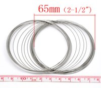 Wholesale 2015 New Loops Memory Beading Wire for Bracelet mm mm Dia