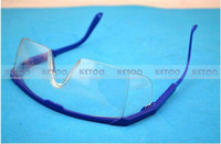 Wholesale 1pcs Impact resistance glasses Work safety glasses Transparent protective glasses wind and dust goggles anti fog medical A5