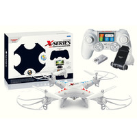 Wholesale Hot Sale RC Quadcopter FPV iPhone Android Wifi Remote Control Helicopter UFO Drone GPS RTF CH VS H107D H9D