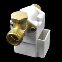 Wholesale New Electric Solenoid Valve For Water Air N C V DC quot Normally Closed Home Using Accessories Y60 DA0916 M5