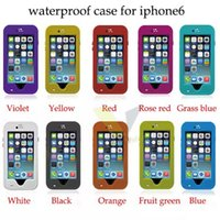 red pepper - Red Peppers RedPepper Waterproof Shockproof Cover Case With Fingerprint Protection Sleeve Shell For Sumsung iphone inch