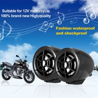 audio guard - Brand for FEYCH Motorcycle Waterproof Speaker Audio Anti theft Alarm Guard v FM Radio MP3 Player USB Charge Alarm Moto Antivol