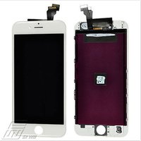 Wholesale Top quality LCD Display Touch Screen Digitizer Assembly Repair for iPhone Plus black white free freight