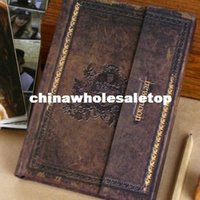 Wholesale 2014 Vintage Diary New Moon This Hard Notebook Twilight DiaryBook Retro Design Newest Calendar Memopad Agenda Travel Planner