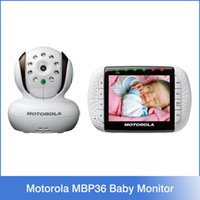 baby display screen - Motorola MBP36 Remote Wireless Video Baby Monitor with inch Color LCD Screen Infrared Night Vision and Remote Camera