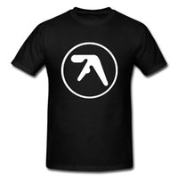 aerosmith t shirts - Fashion Men Aphex twin T Shirt Popular Brand Aerosmith tshirts Printing O Neck Top Cotton Band Music t shirts Short Sleeve Tees