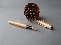 bamboo pencil case - refined bamboo craft pen pencil cases and pen flip creative gifts to share refillable