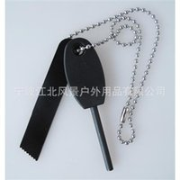 Wholesale Hot sale Magnesium Stone Flint Fire Starter Kit Outdoor Survival Free Drop Shipping