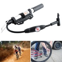 Wholesale New MINI High Pressure Portable Bicycle Air Pump Inflator For Tyre Tire Ball Bicycle Pump