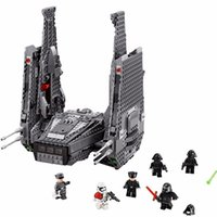 Wholesale LEPIN Star Wars Kylo Ren s Command Shuttle Figure toys building blocks set marvel minifigures magformers