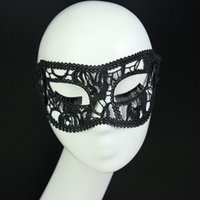 acting masks - MJ27 New Black Lace Masquerade Mask Appeal Mask Pictorial Photography Theme Props Act the role ofing is tasted