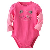 Unisex Summer  Baby Bodysuits Baby Girl's Clothes Newborn Long Sleeve Baby Rompers cotton Kids Pajamas Top Quality -ZLM936H