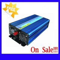 Wholesale Fedex DHL Freeshipping W kw W kw Off Grid Pure Sine Wave Inverter Solar Wind inverter