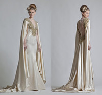 Formal Cape Dresses