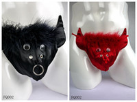 men underwear thong - Mens Sexy Underwear Cute Cows Costumes Low Rise Feather Satin Men Thongs Pouch Underware Black Red Availale Hot Sales JIAOLUN