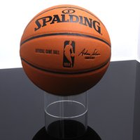 Wholesale Acrylic circle ring basketball display and storage stand