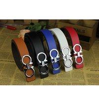 Wholesale Men Women Strap Belt Brand Classic Unisex Genuine PU Leather Women s Men s Belts Straps Fashion Dress Trouser Jeans