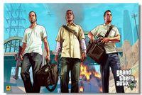 auto custom stickers - Grand Theft Auto V Game Classic Fashion Movie Style Custom Poster Print Size x60 cm Wall Sticker U097535545