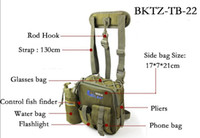 Wholesale Preminum Quality iLure Multi Purpose Canvas Fishing Bags Lure bags Fishing Tackle Free Postage