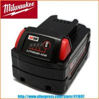 Wholesale New for Milwaukee V M18 XC RED LITHIUM Li Ion Battery Ah order lt no track