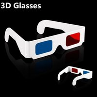 anaglyph video - Hot Items Paper D Glasses d virtual video View Anaglyph Red Cyan Red Blue d Glass