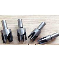 Wholesale 4 x Wood Plug Hole Cutter Cutting Dowel Maker Worktop Kitchen Shank Tools Tap carpenter Wood Working Model Maker Tools Carpentry