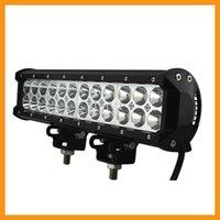 Wholesale 12 inch W CREE LED Light Bar Spot Flood Combo Beam Offroad Light V V LED Work Lamp For ATV SUV WD X4 Boating Hunting