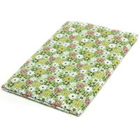 Wholesale 8 pieces green cotton diy patchwork floral fabric textiles for bags curtain tissue cm order lt no track