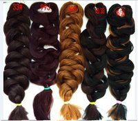 "Cheap 50Pcs+DHL Free Shipping Expression Braiding Hair Ombre Synthetic Braiding Hair Various Colors xpression braiding hair 82"" 165g"