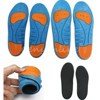 athletic shoes arch support - Newest Unique Design High Quality Gel All Size Men Women Sport Insoles Arch Support Shoe Pad Shock Pad Cushion Athletic Running