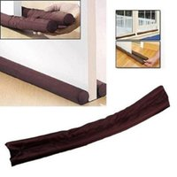 Wholesale Newest Fashion Original coindeal Twin Door Draft Dodger Guard Brown Stopper Energy Saving Worldwide