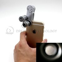 microscope for eye - 25PCS Universal Mini Pocket Max X Zoom Digital Camera Microscope Lens Eye Set for Students Iphone S Samsuang S5 NOTE Smart phone