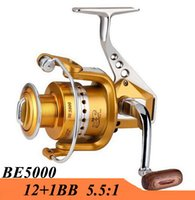 Wholesale 2015 New BB Series Metal Spinning Fishing Reel Fish Wheel Saltwater Carretilha Pesca For Shimano Fishing