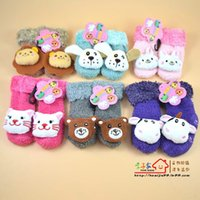 Wholesale Kids Baby Unisex Newborn Animal Cartoon Socks Cotton Shoes Booties Boots M bulk order high qualtity mix order buy now