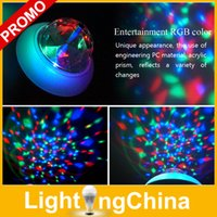 rgb led price - Low Price Novelty LED Colorful RGB Bulbs W E27 AC85 V Rotating Lamp Crystal Magic Ball Bulb For Disco Home Party Mini Stage Lights