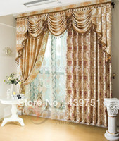 Wholesale Jacquard roman blinds fashion luxury home textile finished product bedroom curtain new arrival curtains for window living room
