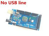 arduino mega price - Mega R3 Mega2560 REV3 ATmega2560 AU Board NO USB Cable compatible for arduino good quality low price No USB line