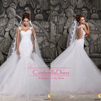 Cheap Reference Images mermaid wedding dresses Best One-Shoulder Chiffon berta wedding dresses