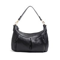 high quality leather handbags - KEXI Genuine Leather Trendy Shoulder Bags Polyester Lining Discount Ladies Handbags Casual Style High Quality Handbags for