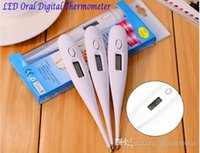 adult babys - LCD Oral Oral Digital Thermometer Tones Cues Degree Fever Child Safe Babys Termometer Kids Electronic Temperature Meter No Mercury