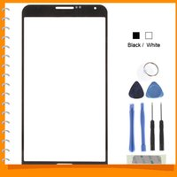 Cheap Front Outer Screen Glass Lens Cover Replacement Digitizer for Samsung Galaxy Note 3 III   N9006 with Tools