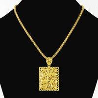 Wholesale Men s Necklace k Gold Necklace Ladies Necklace Men s Necklace JP095 Wedding Necklace