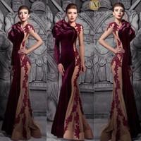 Burgundy Velvet Dress For A Fall Wedding Burgundy Mermaid Wedding