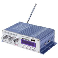 Wholesale HY502 Hi Fi Mini Digital Motorcycle Auto Car Stereo Power Amplifier Sound Mode Audio Music Player Support USB MP3 DVD CD FM SD M2018