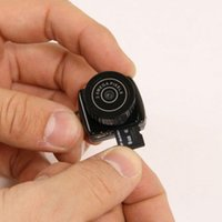 Wholesale 30 The World smallest camera Mini HD Y2000 Video Camera Small Mini Pocket DV DVR Camcorder Recorder Spy Hidden Web Cam PQ150